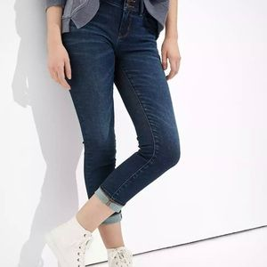 """American Eagle """"Artist"""" cropped jeans"""